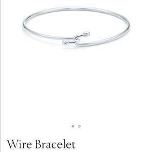 Tiffany & Co. Sterling Silver Wire Bracelet